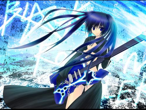 Vocaloids images Black Rock Shooter Vocaloid Wallpaper HD ...