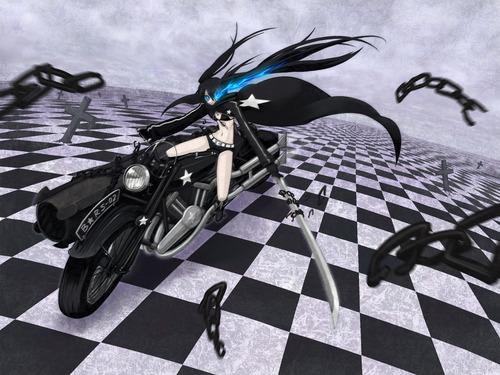 Black Rock Shooter Vocaloid 壁紙