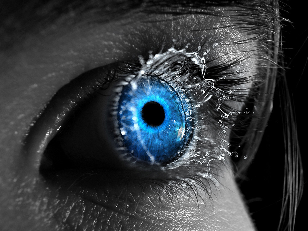 Love Eyes Wallpapers : Blue eye - Eyes Wallpaper (8326072) - Fanpop