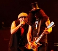Brian and Slash - ac-dc photo