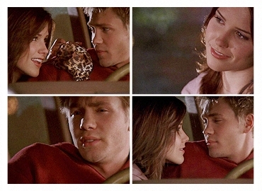 "Brucas ""How many moments in life can u point to and say that's when it all changed.You just had one"""