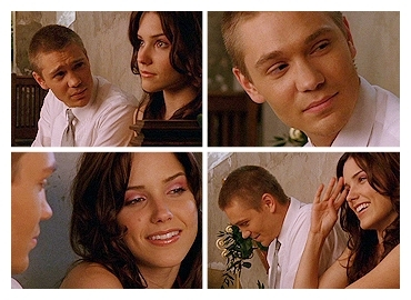 "Brucas(ブルック&ルーカス) ""Two people come together... and even if it's just for one night, they make us believe again"""