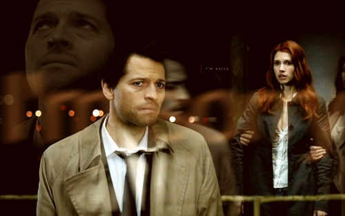 Castiel images Castiel & Anna* HD wallpaper and background photos