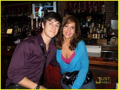 David Henrie and Maria Canals-Barrera