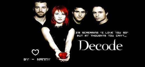 Decode Paramore