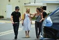 Dianna Agron with Ed Westwick and Jessica Szohr - dianna-agron screencap