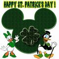 Happy St. Patrick's Day Donald Duck