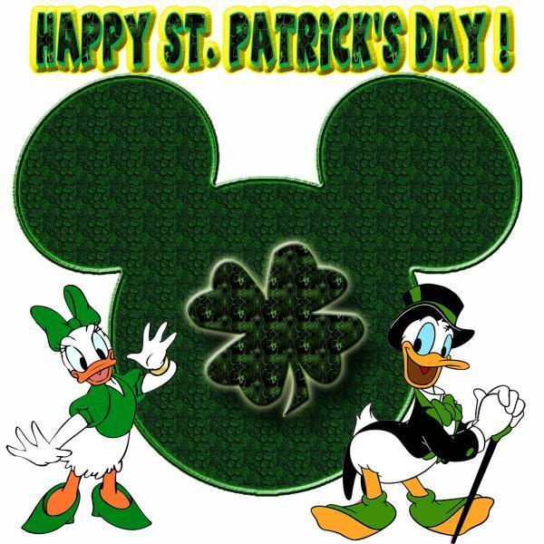 donald duck images happy st patrick s day donald duck wallpaper and