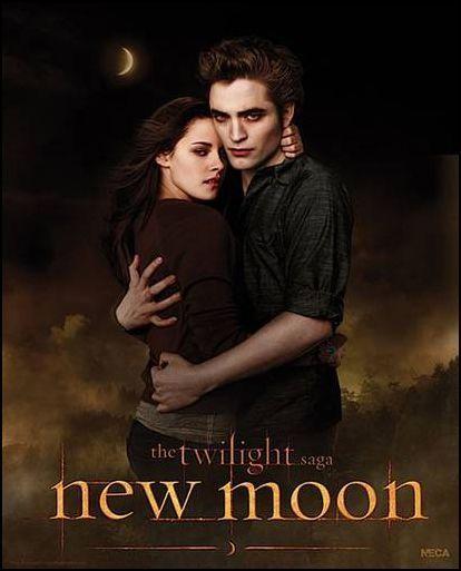Edward & Bella - New Moon poster