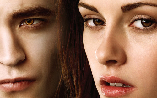 Edward & Bella amazing wolpeyper
