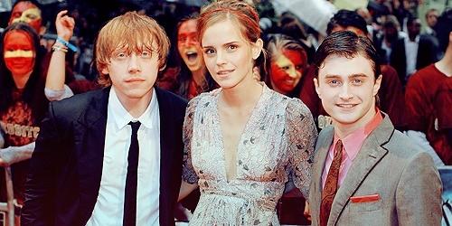 Emma, Dan & Rupert HBP Premiere