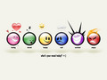 Emoticon Wallpaper - keep-smiling wallpaper