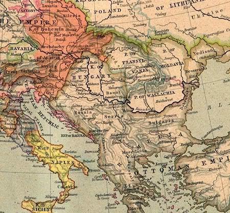 Europe - 1560