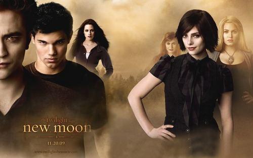Fan-Made New Moon پیپر وال