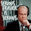 Frasier photo with a business suit and a suit entitled Frasier Crane