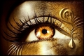 Golden eye - eyes photo