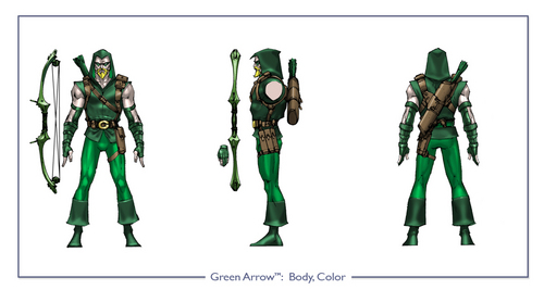 Green Arrow in DCU Online