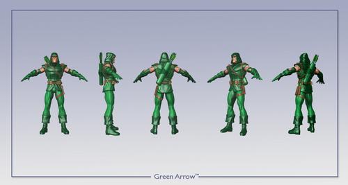 Green Стрела in DCU Online