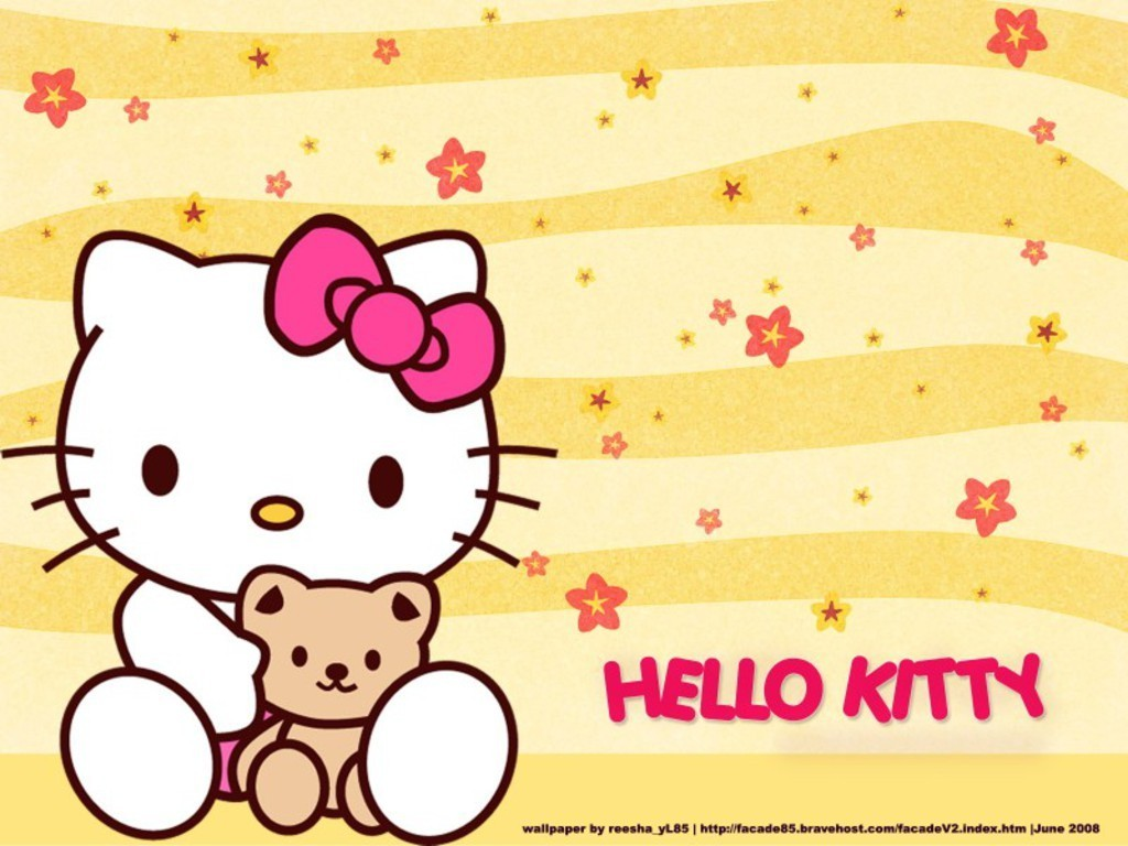 Hello Kitty Wallpaper  Hello Kitty Wallpaper (8303239)  Fanpop