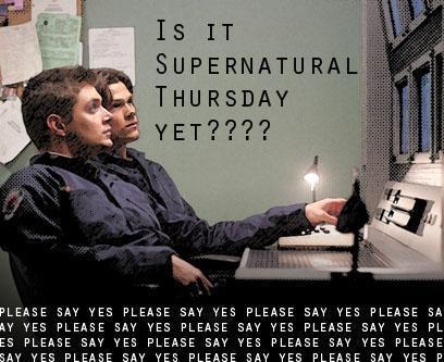Is it Supernatural Thursday yet?