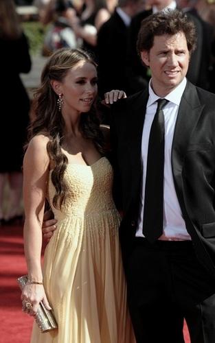 J&J Arrive @ the 2009 PrimeTime Emmy Awards