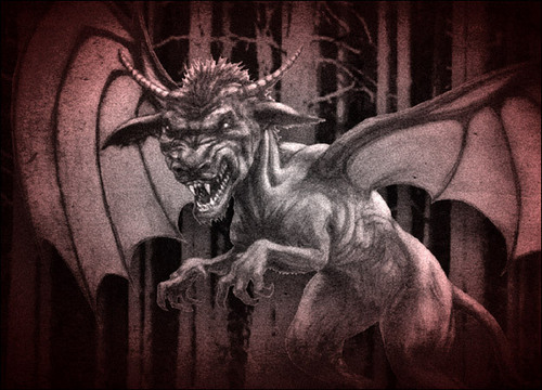 Lost Tapes wallpaper entitled Jersey Devil