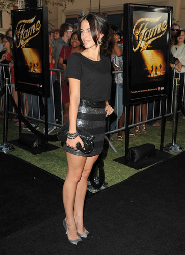 "Jessica @ ""Fame"" Los Angeles Premiere"