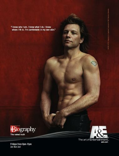 Bon Jovi wallpaper possibly with a hunk, a television receiver, and a six pack titled Jon Bon Jovi