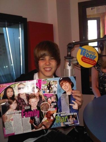 Justin in Germany