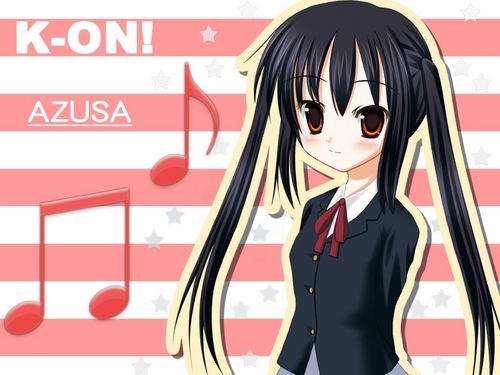 K-On! Azusa wallpaper