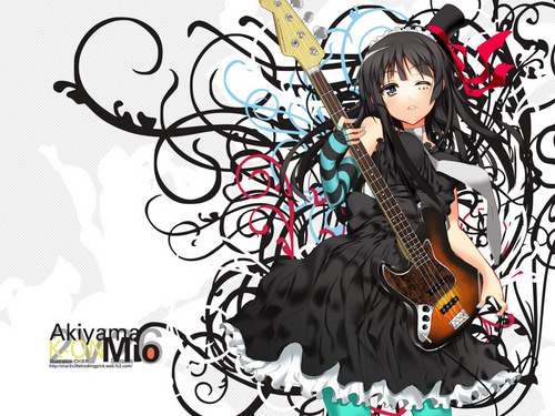 K-On! Mio Wallpaper - k-on Wallpaper