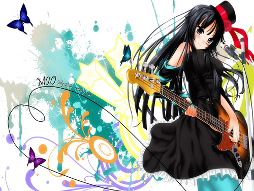 K-On! Mio Wallpaper
