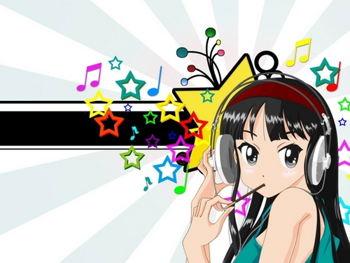 K-ON! wallpaper with anime entitled K-On! Mio Wallpaper