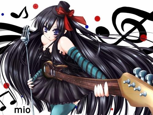 K-On! Mio پیپر وال