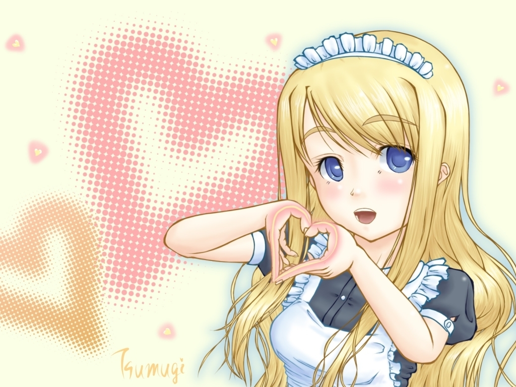 K-On! Mugi wallpaper