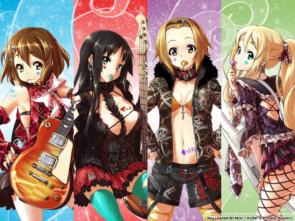 On! Wallpaper - K-ON! Wallpaper (8382942 ...