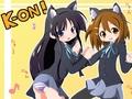 K-On! Yui & Mio Wallpaper