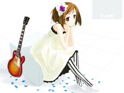 K-On! Yui wallpaper