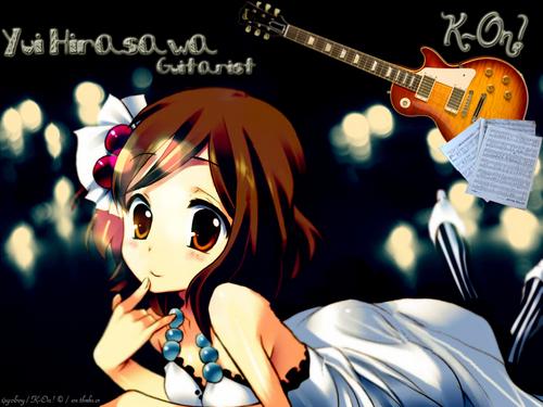 K-On! Yui Wallpaper
