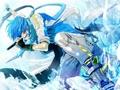 Kaito Vocaloid achtergrond