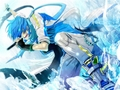 Kaito Vocaloid karatasi la kupamba ukuta