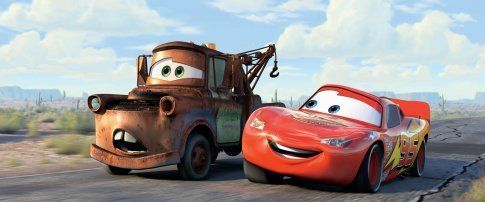 Lightning and Mater
