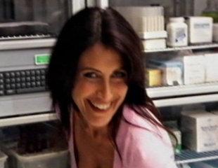Lisa Behind The Scenes Of House Season 6