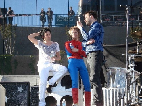 Matt, Spiderdom & Chris