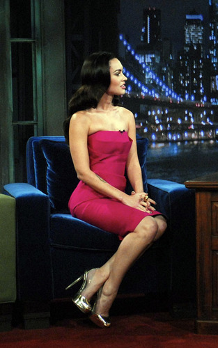 """Megan on """"Late Night with Jimmy Fallon."""""""