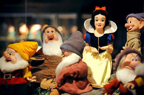 Michael Jackson's Statue of Snow White