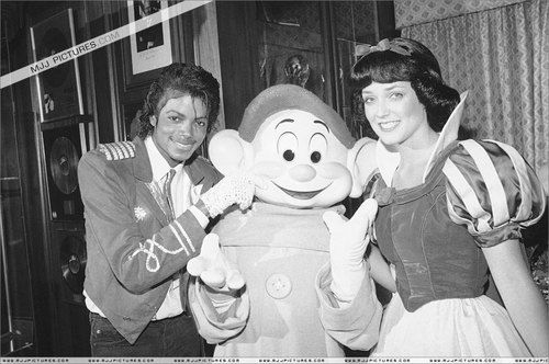 Michael with Snow White