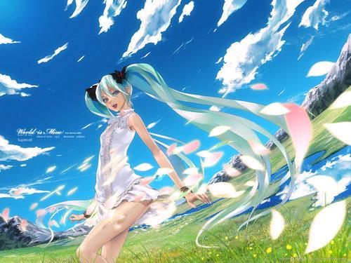 Vocaloids wallpaper titled Miku Hatsune Vocaloid Wallpaper