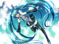 Miku Hatsune Vocaloid Wallpaper