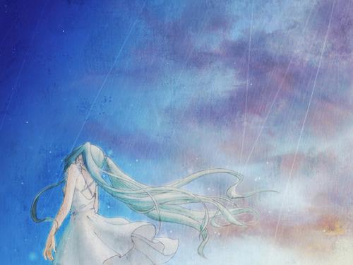 Miku Hatsune Vocaloid Wallpaper